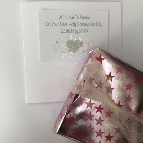 Holy Communion gift for a special granddaughter - FREE ENGRAVING